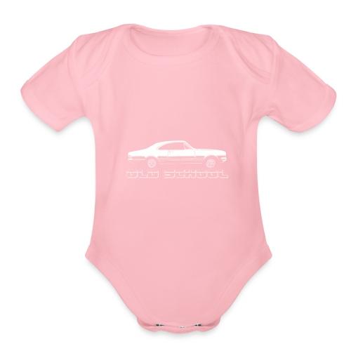 HK MONARO - Organic Short Sleeve Baby Bodysuit