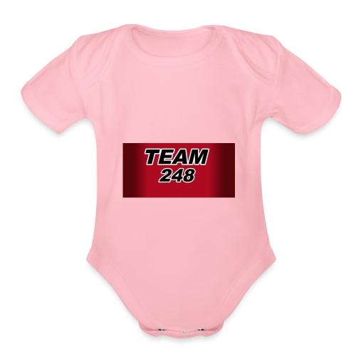 Crusher248 - Organic Short Sleeve Baby Bodysuit
