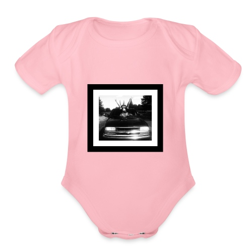 Country Life - Organic Short Sleeve Baby Bodysuit