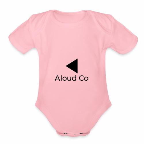 Aloud Co - Organic Short Sleeve Baby Bodysuit
