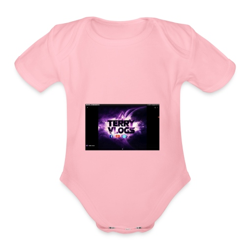 You gotta want it - Organic Short Sleeve Baby Bodysuit