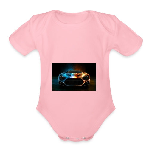 Download Cool Wallpaper Cars Background free stock - Organic Short Sleeve Baby Bodysuit