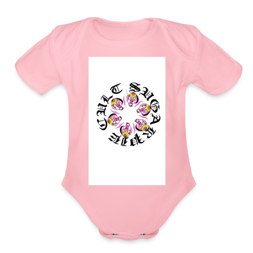 SUGARPIE CULT - Organic Short Sleeve Baby Bodysuit