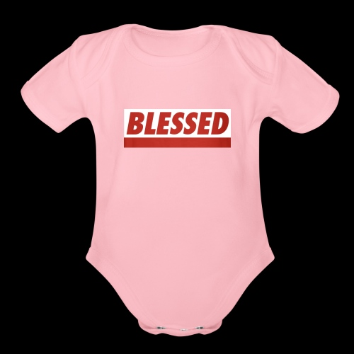 IMG 0743 - Organic Short Sleeve Baby Bodysuit