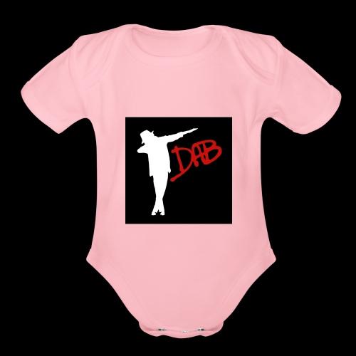 T-shirt Dab - Organic Short Sleeve Baby Bodysuit