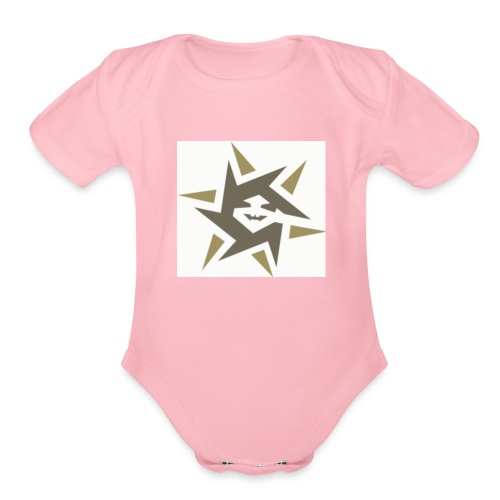 The ninja zone - Organic Short Sleeve Baby Bodysuit