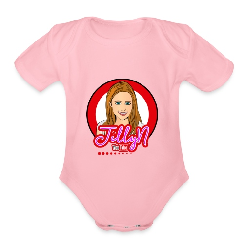 JillyN - Organic Short Sleeve Baby Bodysuit
