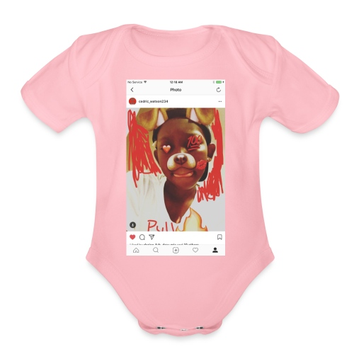 KidDancer - Organic Short Sleeve Baby Bodysuit
