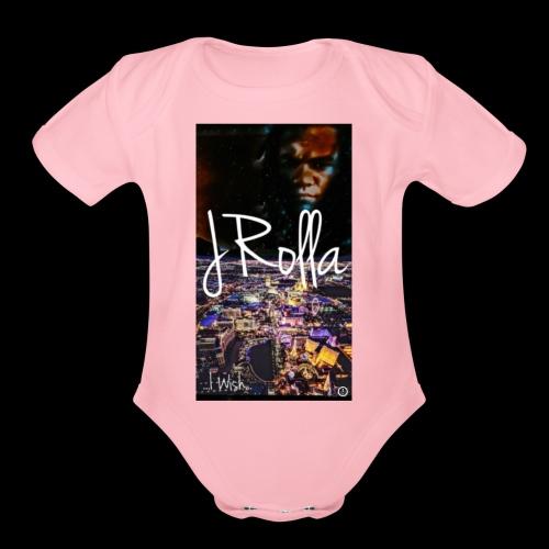 JRolla-Wish - Organic Short Sleeve Baby Bodysuit