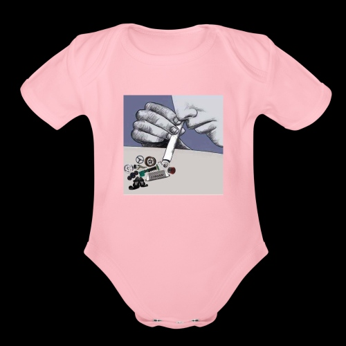 Need for Speed - Organic Short Sleeve Baby Bodysuit