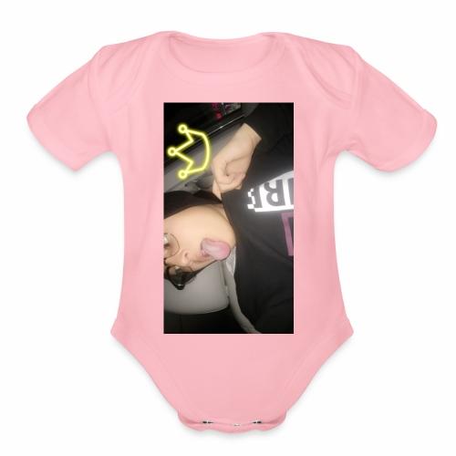Yoaustinsmerch - Organic Short Sleeve Baby Bodysuit