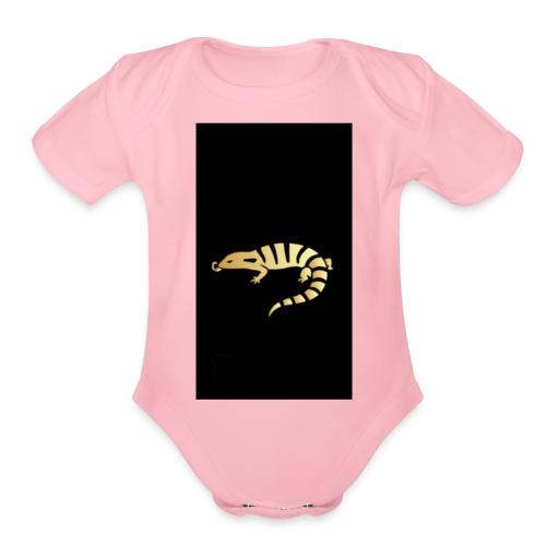 JacobYourUber's Salamander - Organic Short Sleeve Baby Bodysuit