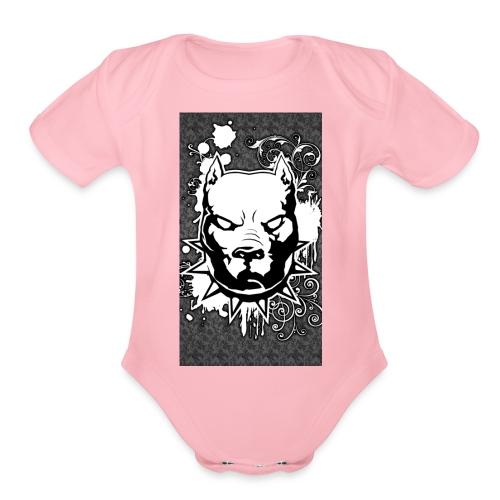 7EDE83B5 AF36 43E3 B7C1 0E3BBA7178E9 - Organic Short Sleeve Baby Bodysuit