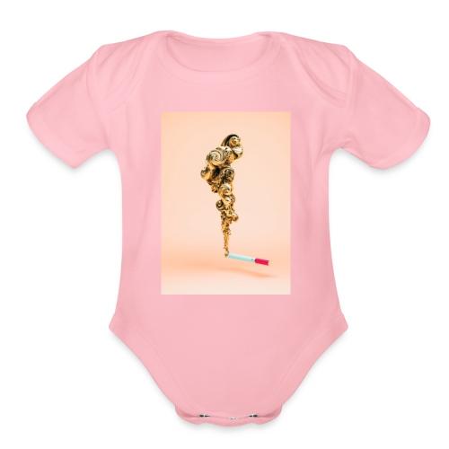 IMG 0415 - Organic Short Sleeve Baby Bodysuit