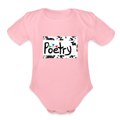 Getto Read Poetry - Organic Short Sleeve Baby Bodysuit