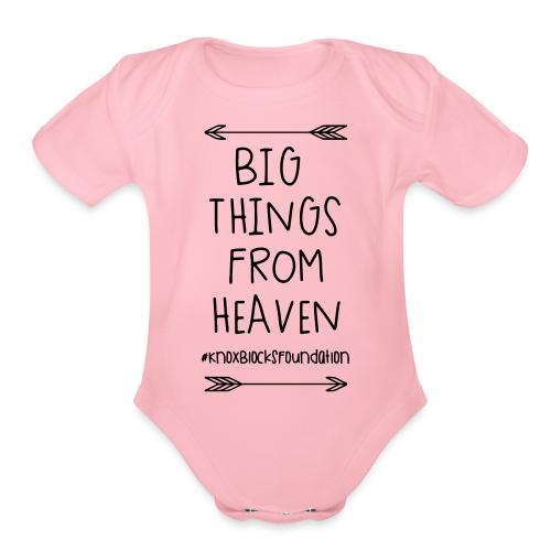 kb btfh page 1 - Organic Short Sleeve Baby Bodysuit