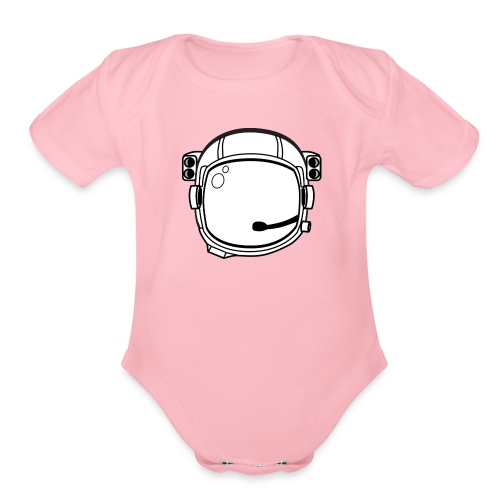 helmet 29704 960 720 - Organic Short Sleeve Baby Bodysuit