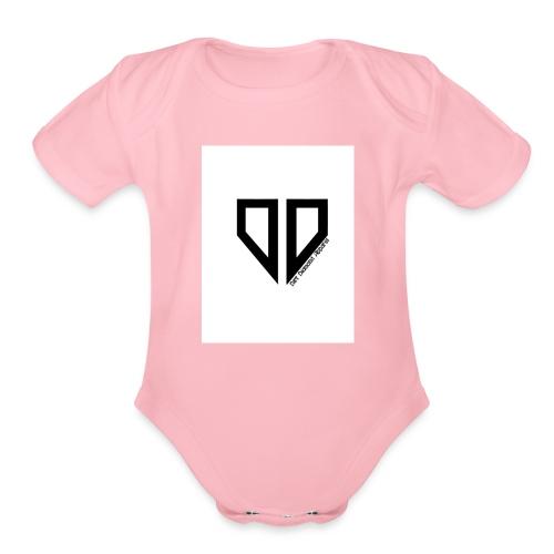 LOGOJpg - Organic Short Sleeve Baby Bodysuit