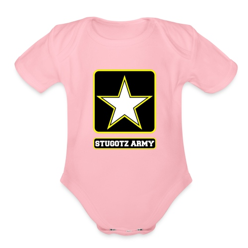 The Stugotz - Organic Short Sleeve Baby Bodysuit