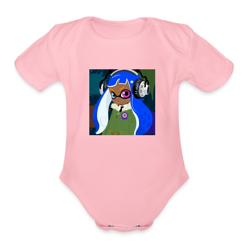 jasona the inkling - Organic Short Sleeve Baby Bodysuit