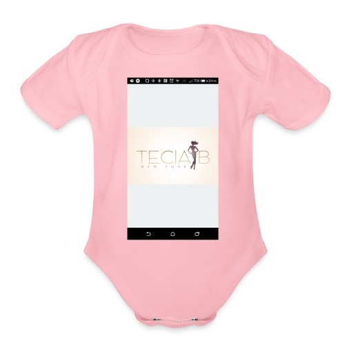Teciab - Organic Short Sleeve Baby Bodysuit