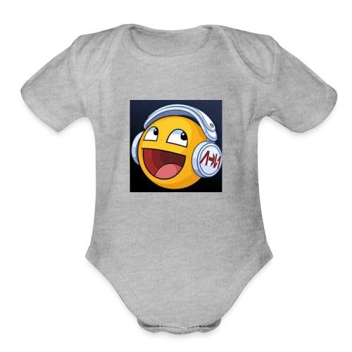 ItzRyanAndArchie Logo - Organic Short Sleeve Baby Bodysuit