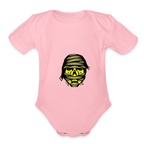 The Mummy s Revenge - Organic Short Sleeve Baby Bodysuit
