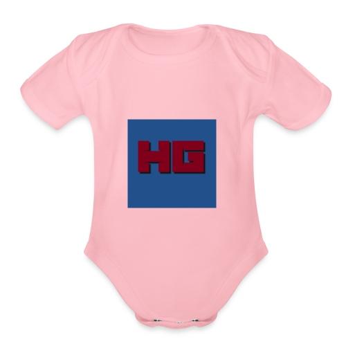 HansGamingMerch - Organic Short Sleeve Baby Bodysuit