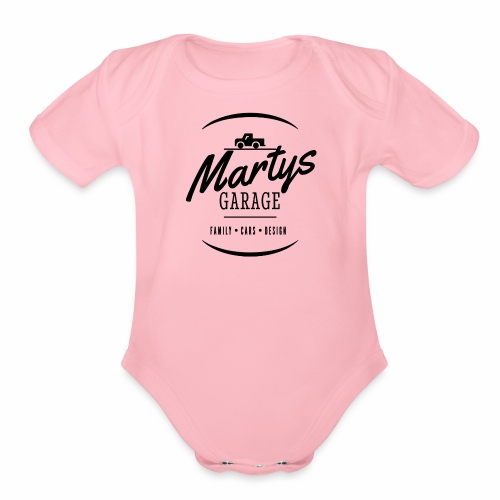 Marty's - Organic Short Sleeve Baby Bodysuit
