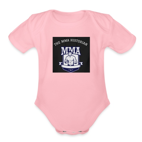THE MMA Historian - Organic Short Sleeve Baby Bodysuit