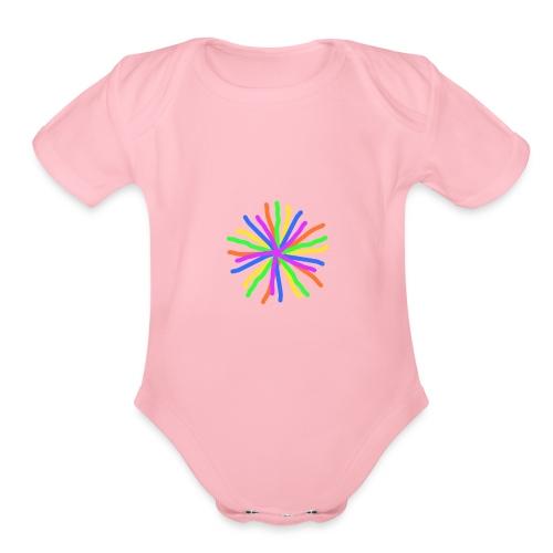 Farbenstern - Organic Short Sleeve Baby Bodysuit