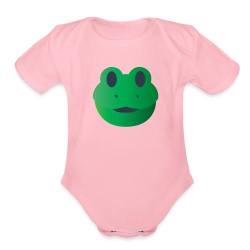 Froggy Icon - Organic Short Sleeve Baby Bodysuit