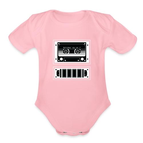 Awesome Mix - Organic Short Sleeve Baby Bodysuit