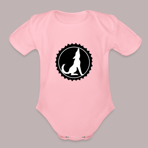 Tail Waggers - Organic Short Sleeve Baby Bodysuit