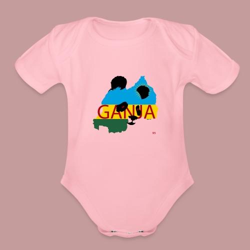 ganja95_ - Organic Short Sleeve Baby Bodysuit