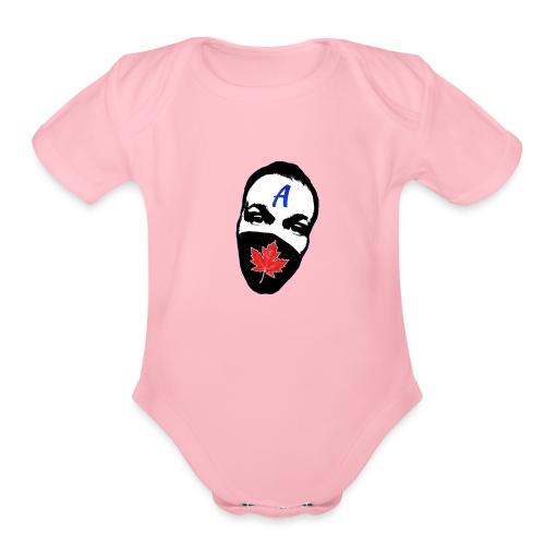 STA Logo - Organic Short Sleeve Baby Bodysuit