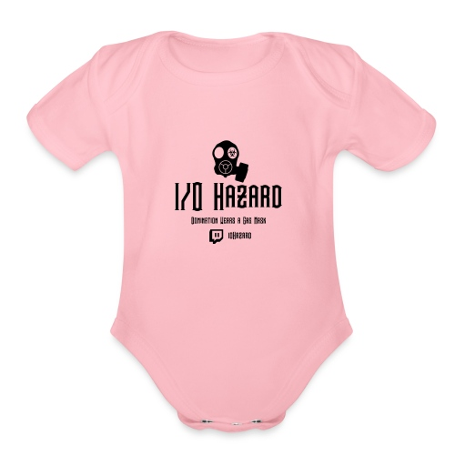 I/O Hazard Official - Organic Short Sleeve Baby Bodysuit