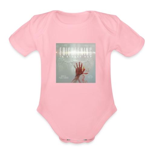 Frightening Hand T - Organic Short Sleeve Baby Bodysuit