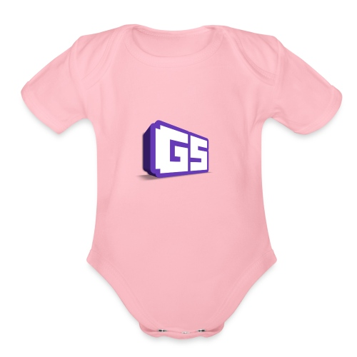General Splayzo - Organic Short Sleeve Baby Bodysuit