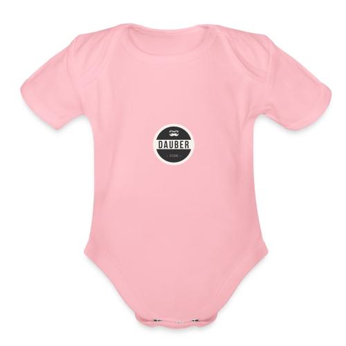 Dauber Bestsellers - Organic Short Sleeve Baby Bodysuit