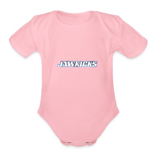 JAWKICKS LOGO APPAREL - Organic Short Sleeve Baby Bodysuit