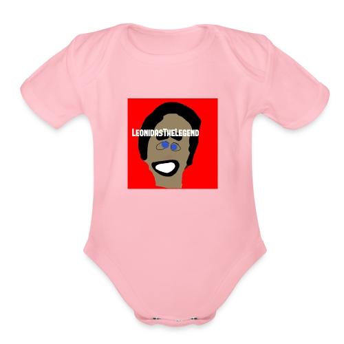 LeonidasTheLegend - Organic Short Sleeve Baby Bodysuit