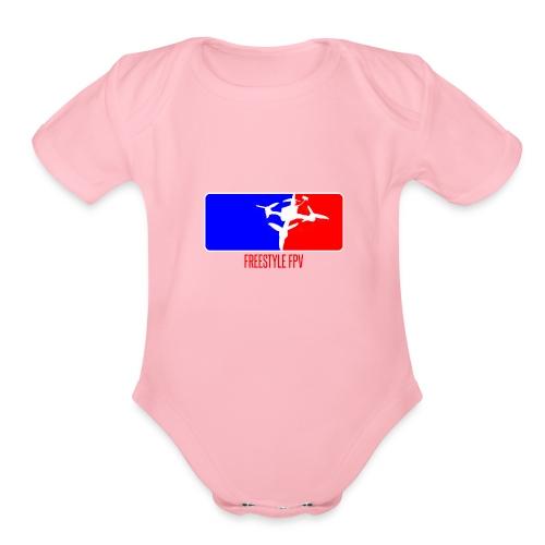 MAJOR LEAGUE - Organic Short Sleeve Baby Bodysuit