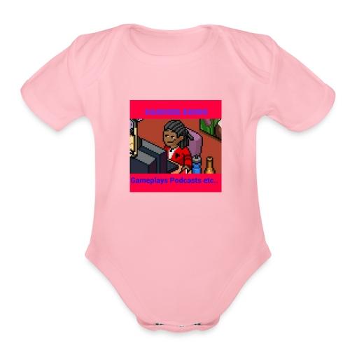 The firts Dandier Rhino Merchandise - Organic Short Sleeve Baby Bodysuit