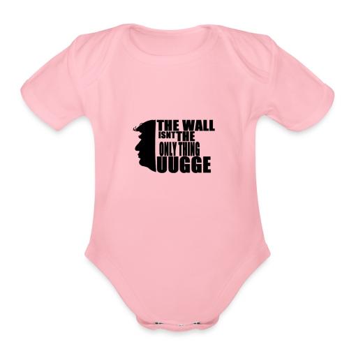 Trump Meme - Organic Short Sleeve Baby Bodysuit