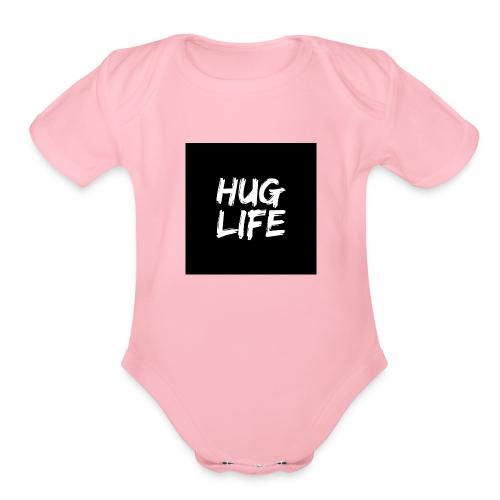 HUG LIFE - Organic Short Sleeve Baby Bodysuit