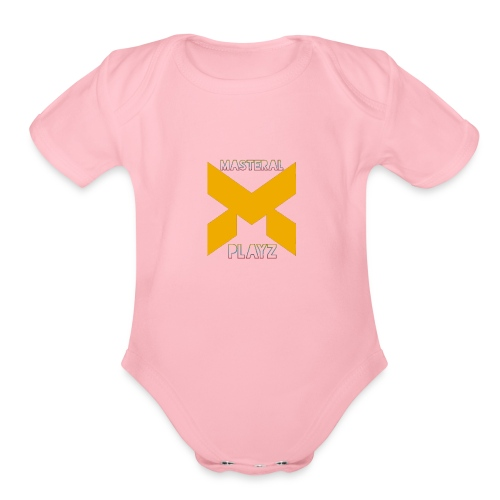 MasterAlPlayz - Organic Short Sleeve Baby Bodysuit