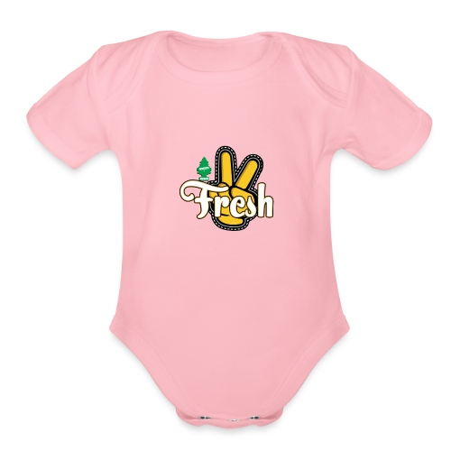 2Fresh2Clean - Organic Short Sleeve Baby Bodysuit