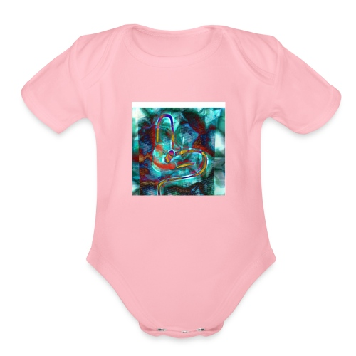 Life of a stoner - Organic Short Sleeve Baby Bodysuit
