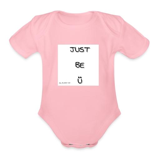 MARCO XD NATION - Organic Short Sleeve Baby Bodysuit